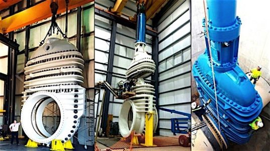 World S Largest Gate Valves Will Operate In Texas Water