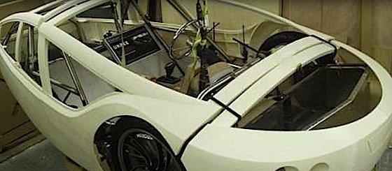 Car frame 3D printed