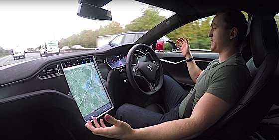 Engineered Design InsiderA Reviewer takes hands off wheel nervously for first time in semi autonomous TeslaOil Gas Automotive Aerospace Industry Magazine