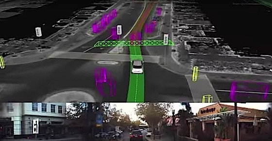 Engineered Design InsiderA display showing the Waymo driverless system in actionOil Gas Automotive Aerospace Industry Magazine