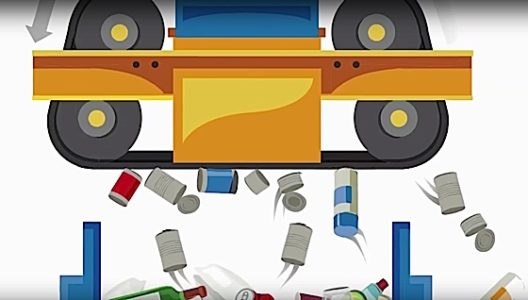 Engineered Design InsiderMagnetizer picks up steel cans off conveyer belt recycling Niagra OntarioOil Gas Automotive Aerospace Industry Magazine