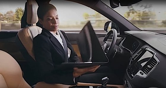 Engineered Design Insidera practical demonstration of benefit working in the driverless car on the way to officeOil Gas Automotive Aerospace Industry Magazine