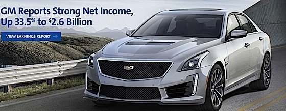 F General Motors GM reports strong income