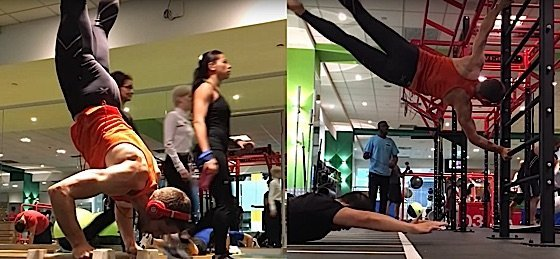 Richard browning calisthenics to keep body strong for iron man flight suit