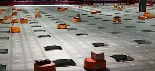 Engineered Design Insider Miniature robots work the warehouse in place of people in ChinaOil Gas Automotive Aerospace Industry Magazine