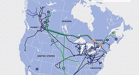 Engineered Design Insider Natural gas pipelines TransCanada systemOil Gas Automotive Aerospace Industry Magazine