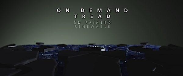 Engineered Design Insider On demand swapable tread from Michelin 3D printed technologyOil Gas Automotive Aerospace Industry Magazine