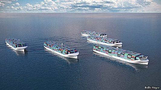 Engineered Design Insider Rolls Royce cargo ship proposalOil Gas Automotive Aerospace Industry Magazine