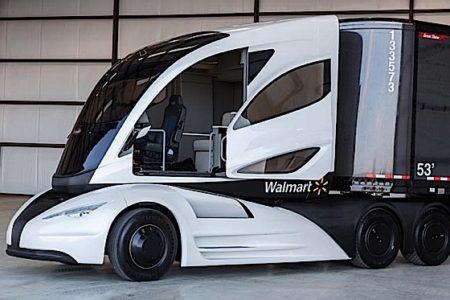 Engineered Design Insider Walmart Advanced Vehicle Concept Cab 668Oil Gas Automotive Aerospace Industry Magazine