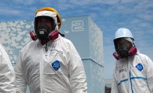 Fukushima Dai ichi nuclear power plant in Okuma