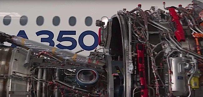 Engineered Design Insider A 350 engline being installedOil Gas Automotive Aerospace Industry Magazine