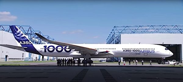 Engineered Design Insider Airbus A 350 1000 on runwayOil Gas Automotive Aerospace Industry Magazine