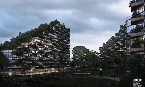 """Engineered Design Insider forest city Forest City"""" created to fight pollution is now under construction in Liuzhou Guangxi Province ChinaOil Gas Automotive Aerospace Industry Magazine"""