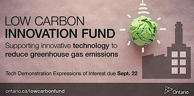 Engineered Design Insider Low Carbon Innovation Fund Ontario EDI WeeklyOil Gas Automotive Aerospace Industry Magazine