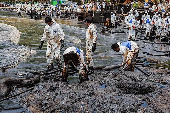 Engineered Design Insider Oil Spill in Rayong ThailandOil Gas Automotive Aerospace Industry Magazine