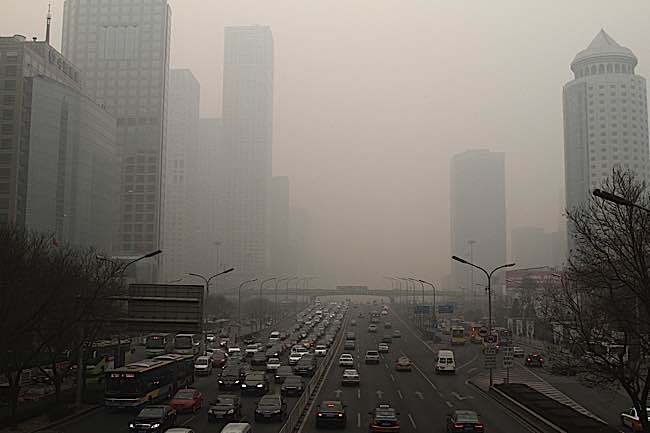 Engineered Design Insider Smog in Beijing ChinaOil Gas Automotive Aerospace Industry Magazine