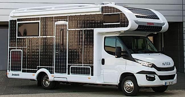 Engineered Design Insider Solar powered electric RV from Dethleffs Oil Gas Automotive Aerospace Industry Magazine