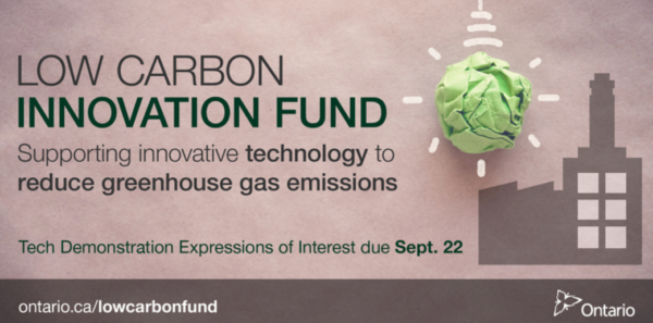 Low Carbon Innovation Fund Ontario EDI Weekly