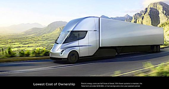 Engineered Design Insider Elon Musk claims lowest cost of ownership for a semi truck for TeslaOil Gas Automotive Aerospace Industry Magazine
