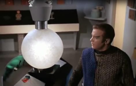 Fictional cloaking device on Star Trek