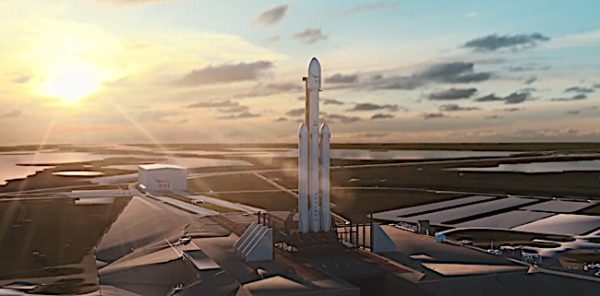 Engineered Design Insider Falcon Heavy Space X on launch padOil Gas Automotive Aerospace Industry Magazine
