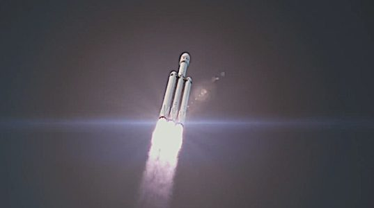 Engineered Design Insider Falcon Heavy animation of launch if all goes wellOil Gas Automotive Aerospace Industry Magazine
