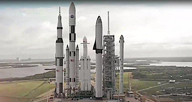 Engineered Design Insider Saturn V versus today rockets Flacon HeavyOil Gas Automotive Aerospace Industry Magazine