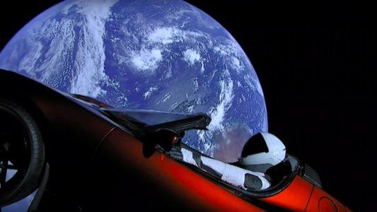 tesla roadster space md