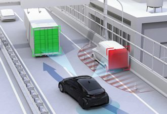 Lane-Changing Algorithm Improves Driverless Vehicle Performance
