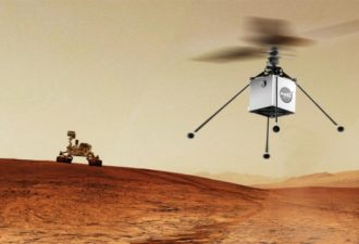 NASA Plans to Send Robotic Helicopter to Mars in 2020
