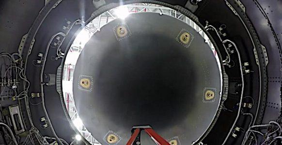 Engineered Design Insider Boeing Starliner from below preparing for testing Oil Gas Automotive Aerospace Industry Magazine