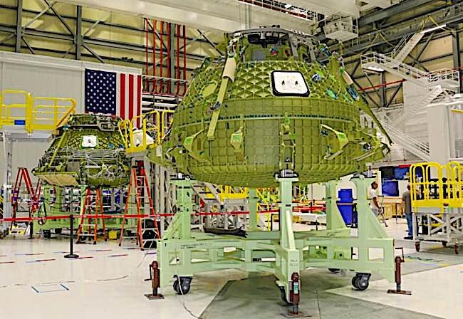 Engineered Design Insider Starliner Pad Abort Test and Orbital Flight Test Vehicles under construction in FloridaOil Gas Automotive Aerospace Industry Magazine