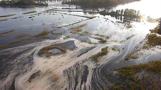 Engineered Design Insider Material flows out of flooded coal ash dum North Carolina NC Department of Environmental QualityOil Gas Automotive Aerospace Industry Magazine
