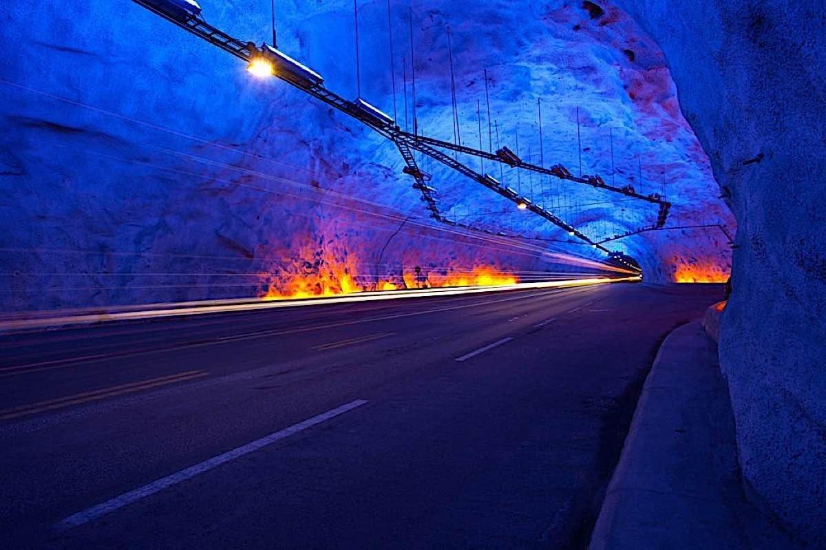 Engineered Design Insider Lærdalstunnelen Norway 1024x682Oil Gas Automotive Aerospace Industry Magazine
