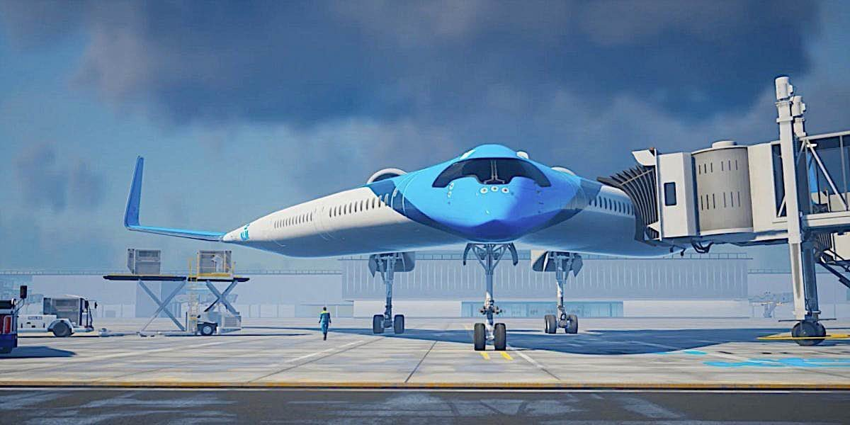 Engineered Design Insider Flying wing from the frontOil Gas Automotive Aerospace Industry Magazine