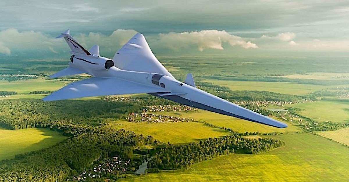 Engineered Design Insider NASA X 59 supersonicOil Gas Automotive Aerospace Industry Magazine