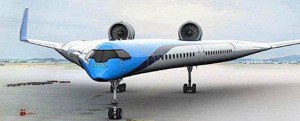 Engineered Design Insider V shaped Flying Wing fuel efficientOil Gas Automotive Aerospace Industry Magazine