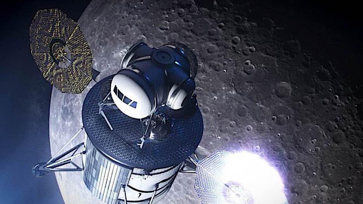 Engineered Design Insider Moon Race 2 Nasa concept for moon landerOil Gas Automotive Aerospace Industry Magazine