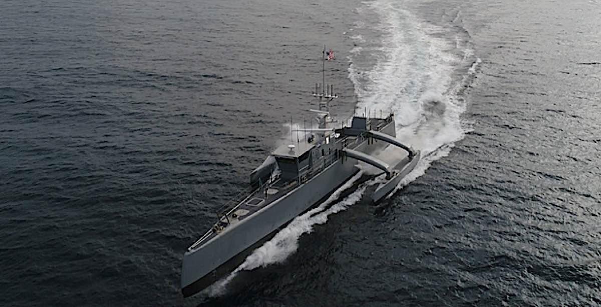 Engineered Design Insider DARPA anti submarine Warefore droneOil Gas Automotive Aerospace Industry Magazine