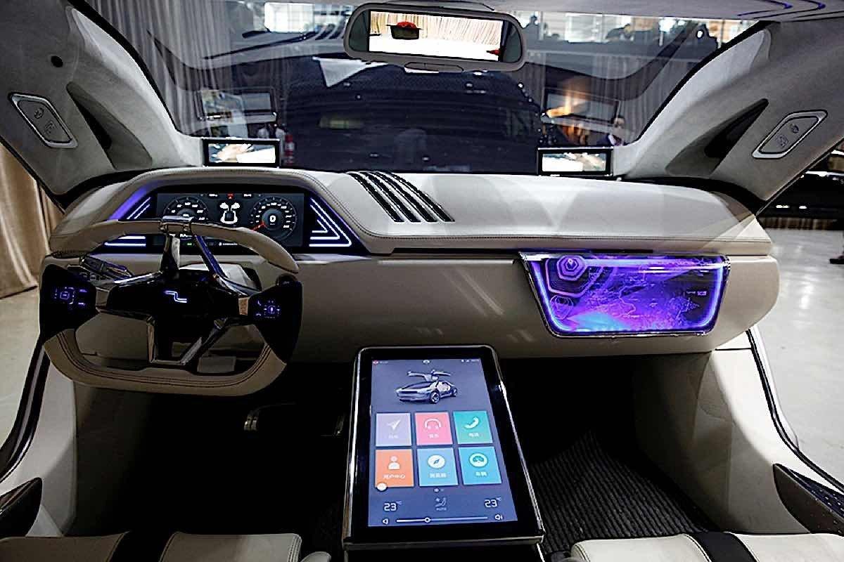 Engineered Design Insider Digital interior of Electric CarOil Gas Automotive Aerospace Industry Magazine