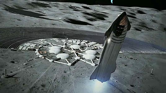 Engineered Design Insider Starship takes off from a fture moon baseOil Gas Automotive Aerospace Industry Magazine