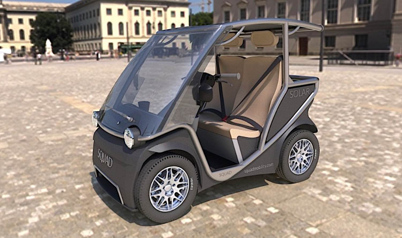 Engineered Design Insider Squad Solar Powered Vehicle top speed 45 kphOil Gas Automotive Aerospace Industry Magazine