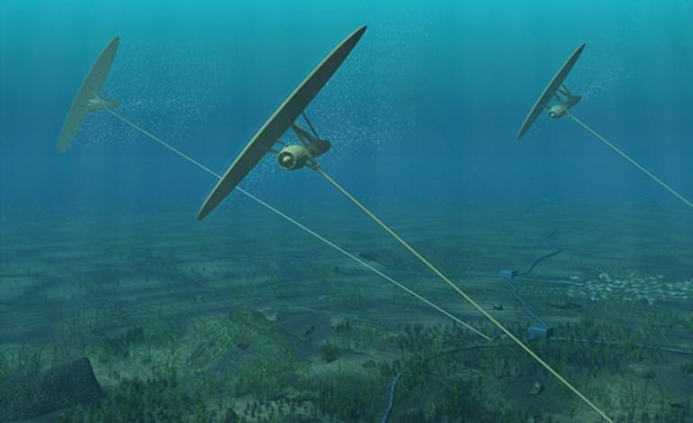 Minesto Deep Green subsea kite technology