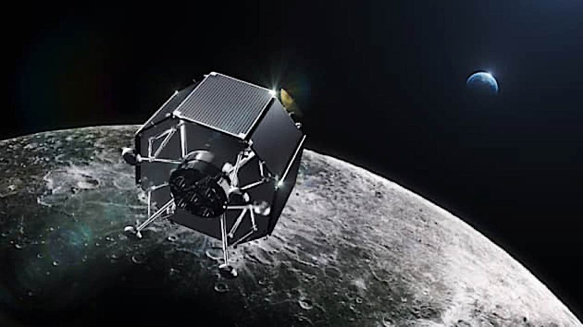 The New ispace Lunar Lander — Commercial space travel to the far side of the moon