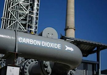 A carbon dioxide capture technology in Texas.