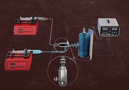 Electrospinning and nanofiber membrane  coaxial spinning device — Elsevier