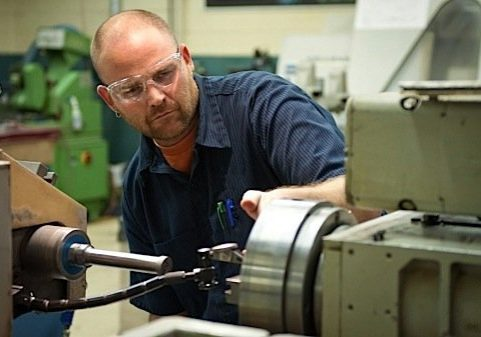 Professional Tool Grinder with Saftey Glasses